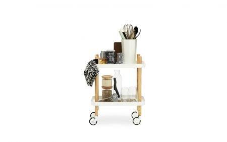 Block Coffee table on castors normann copenhagen table metal