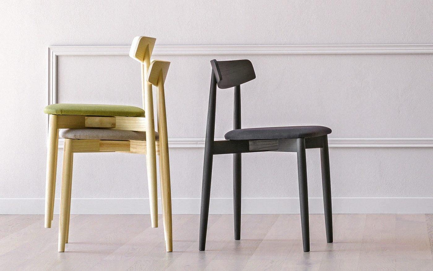 CLARETTA ash black chair miniforms