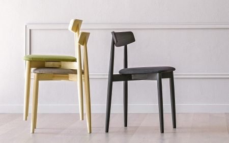 CLARETTA ash black chair miniforms