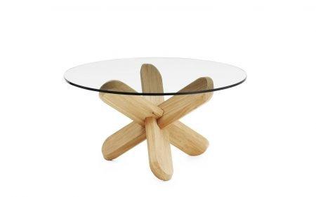 Ding Coffee table normann copenhagen table oak clear