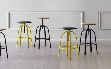 FERROVITOS modern stool miniforms