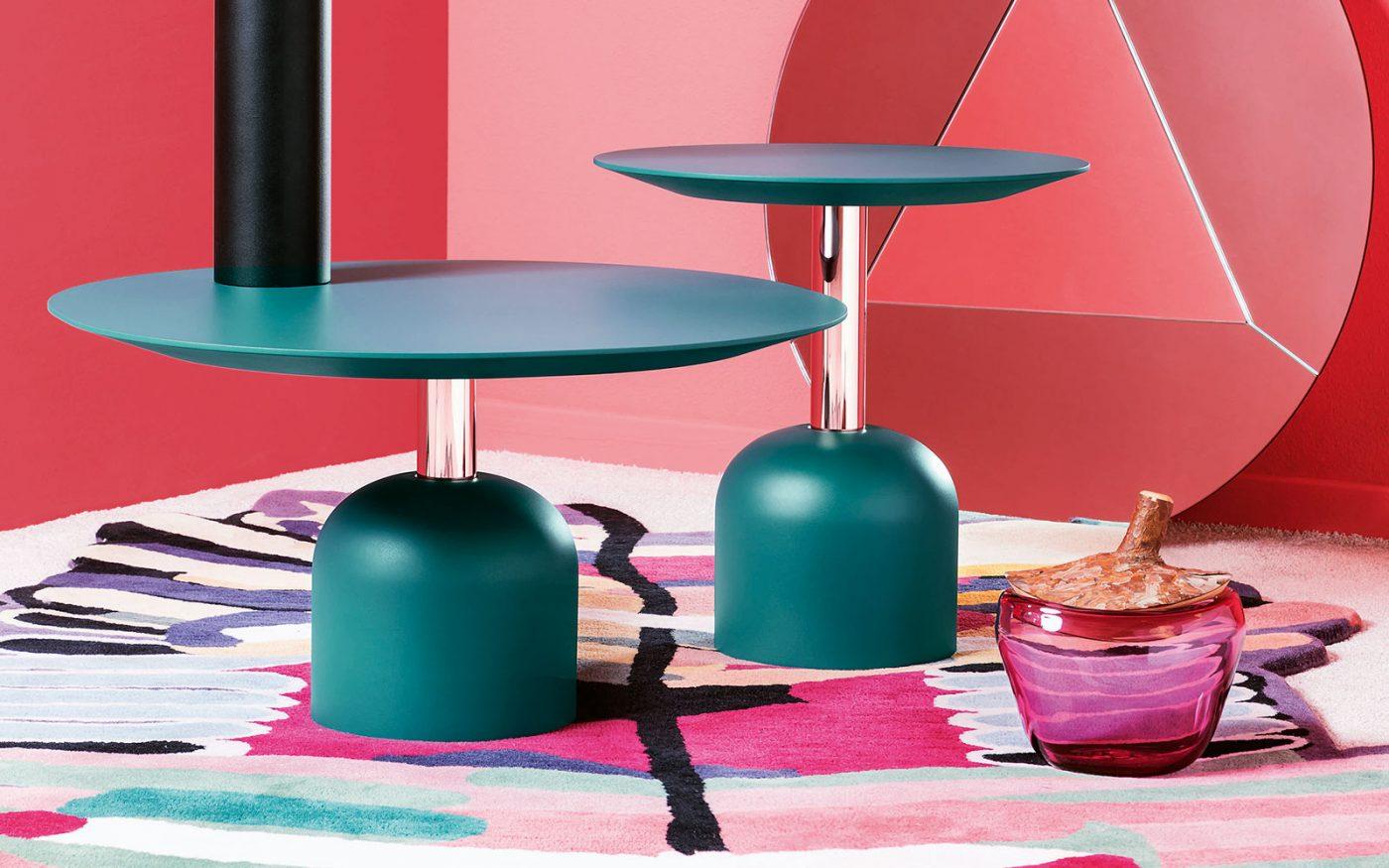 Illo miniforms coffee table green
