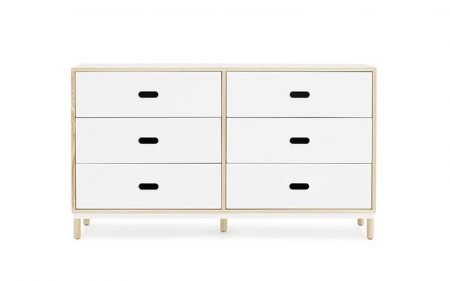 Kabino-normann-copenhagen-6-drawer-white