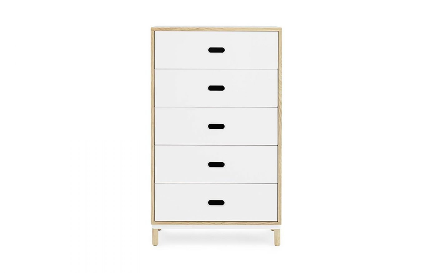 Kabino-normann-copenhagen-sideboard-5drawer-white-2