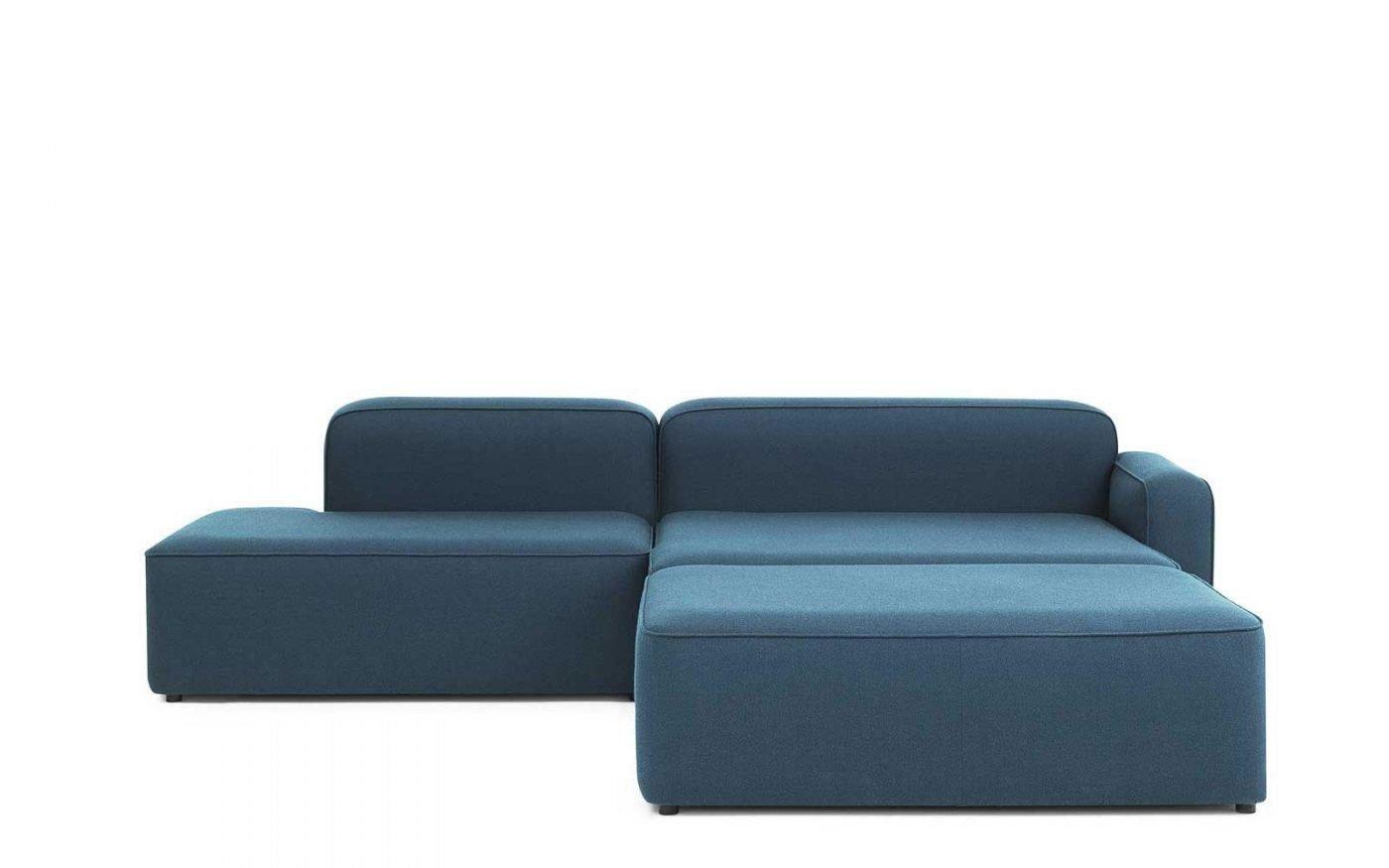 Rope-Sofa-chaise-Right+pouf Normann copenhagen