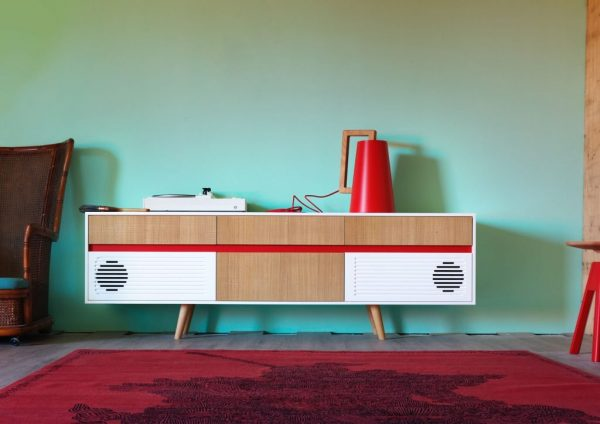 miniforms spak retro sideboard