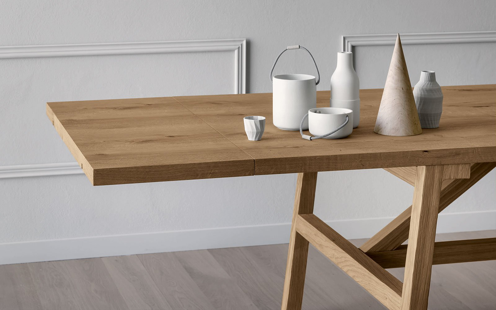 FRATTIONO modern wooden table miniforms