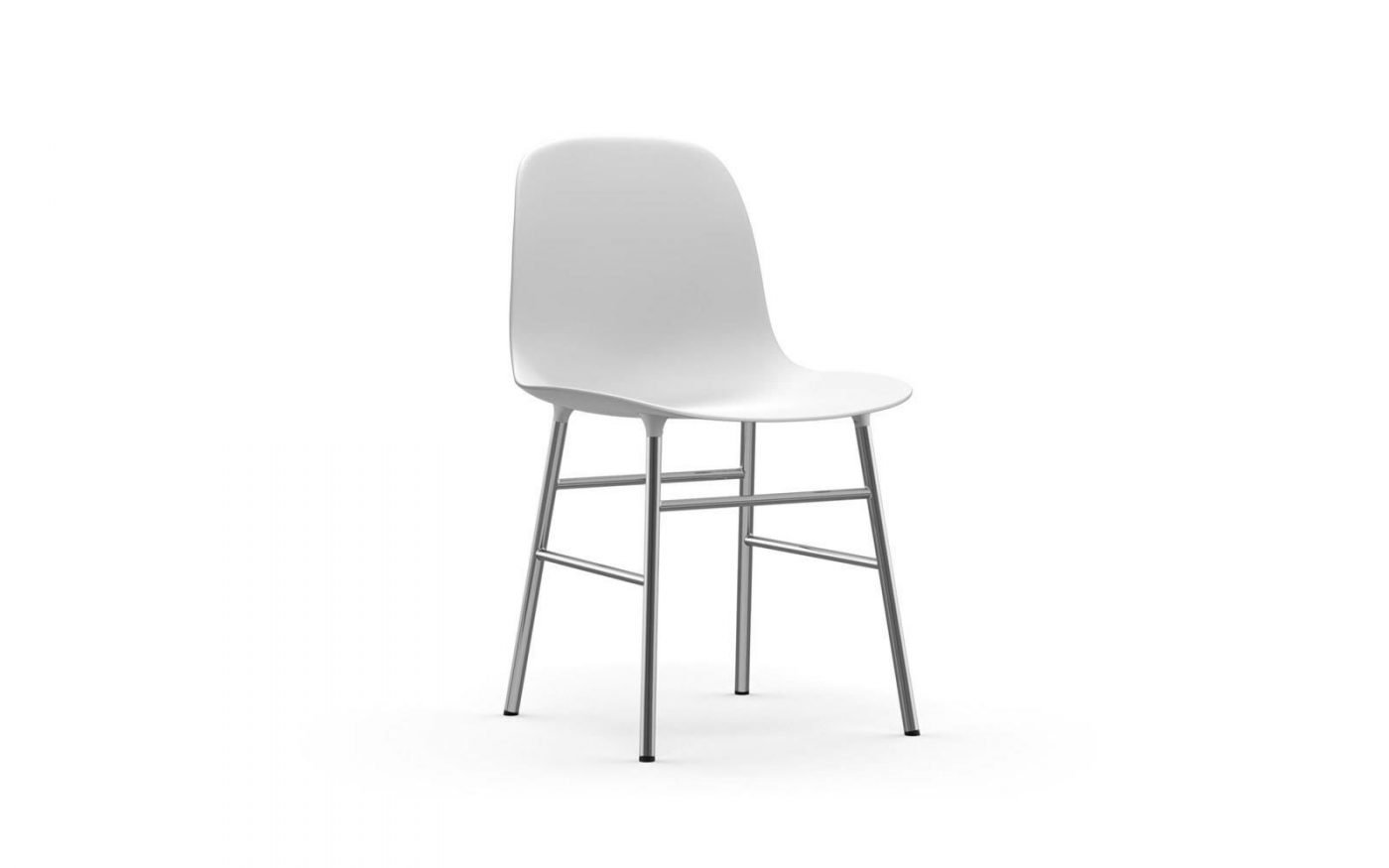 Form-chair-chrome-white-normann-copenhagen