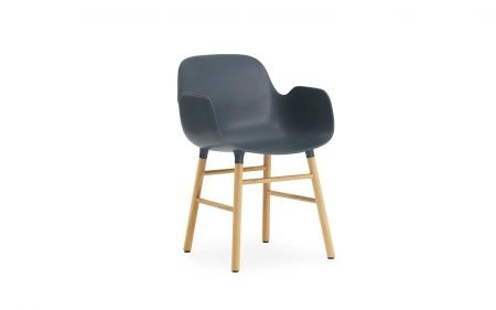 Form chair with arms oak normann copenhagen