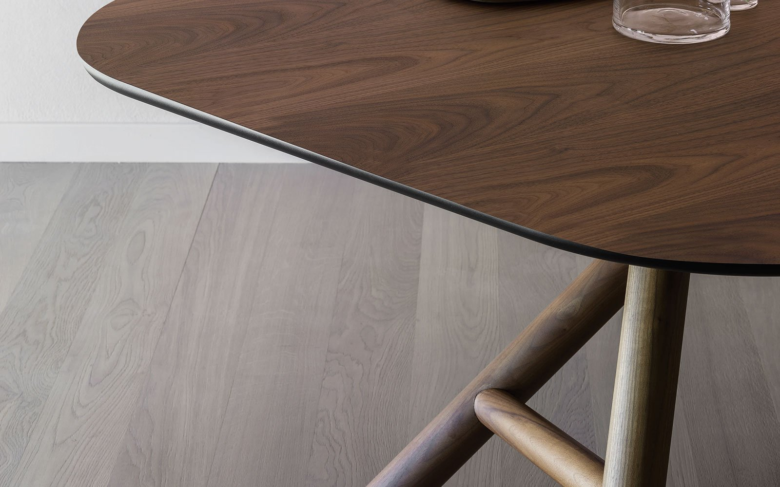 Otto-Contemporary-Dining-Table-with-wooden-top