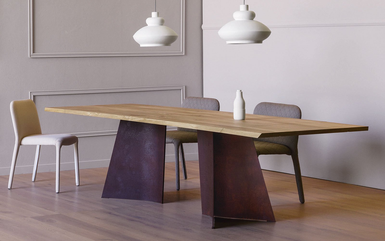 maggese contemporary dining table