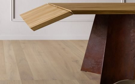 maggese miniforms dining table with metal base