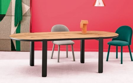 ovo contemporary dining table miniforms